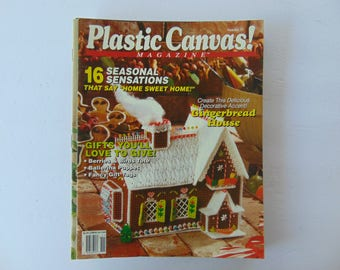 3 Three Plastic Canvas Magazines Issues 15, 17 and 19