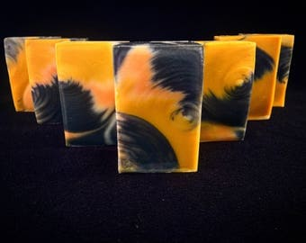 Yuzu (Japanese Citrus) Soap with Activated Charcoal