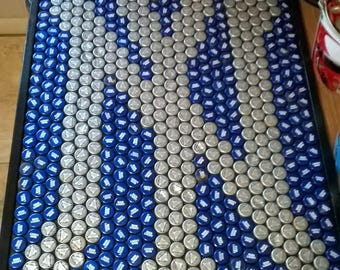 New York Yankees Bottle Cap Sign