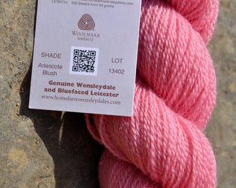 Wensleydale & Bluefaced Leicester Pure Wool (4 Ply)(Sports Weight)