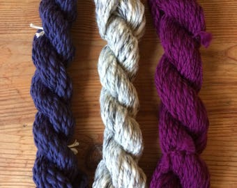 La Madeleine de Proust - Kit weaving 3 skeins