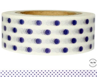 Washi Tape DOTS purple