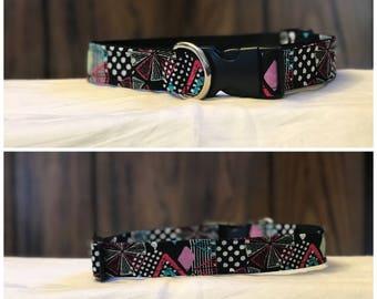 Black/Neon Geometric Collar