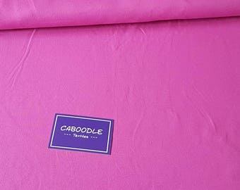 Fuschia Pink, Cotton Lycra Jersey Knit Fabric