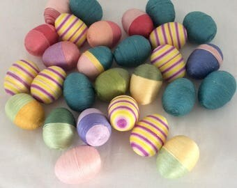 Easter Eggs Springtime and Summer Bowl Fillers Set of 6