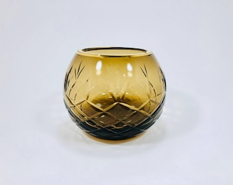 Gold Glass Bowl/Dish