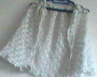 BEAUTIFUL crochet WEDDINDG CAPE