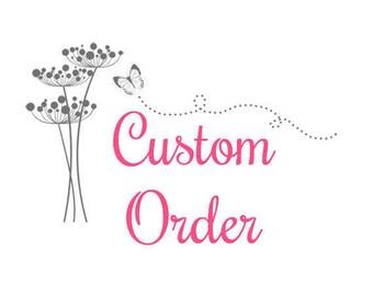 Custom Order for Alicia (jacduncan3), Wheelchair Bag