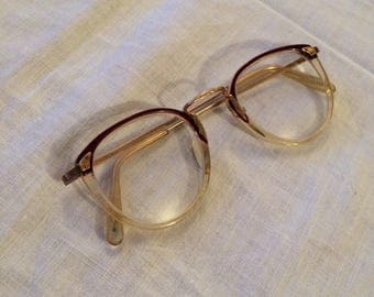 Stunning vintage 1/20 10 ct rolled gold 1950s glasses