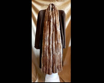 Wool and Fur Coat 1940s