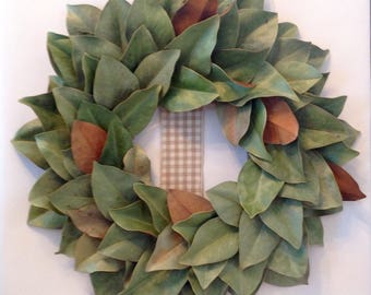 Magnolia Wreath ~ Southern Style ~