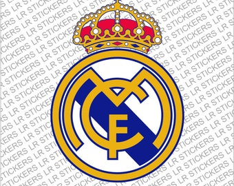 Real Madrid Decal/Sticker