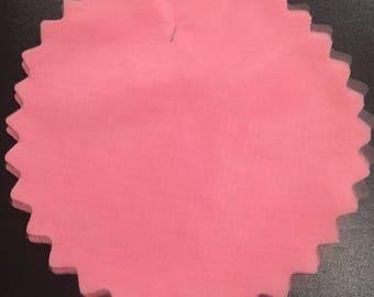 Tulle Circles - Pink