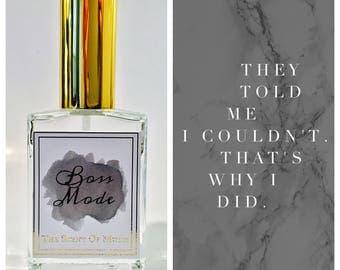 "Pheromone Perfume- ""Boss Mode"""