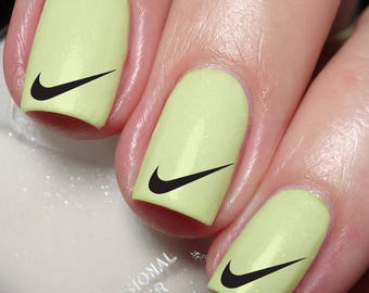 Nike Nail Art Sticker Water Transfer Decal wrap 142