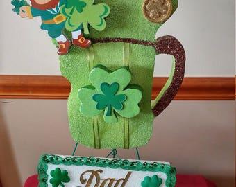 St. Patrick's Day Cemetery Flower