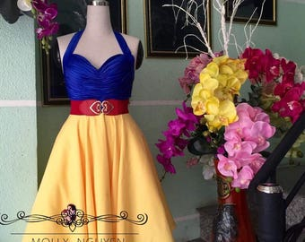 Snow white Dress - Snow White costume - cosplay costume