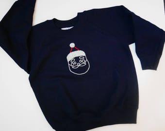 """Sweat enfant """"Père Noël""""  3 ans"""