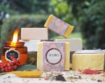 Natural Daphne and Olive Oil Soap- Daphne Soap- %100 Olive Oil&Daphne Soap- Vegan Soap- !!!BUY5 GET 1 FREE!!!