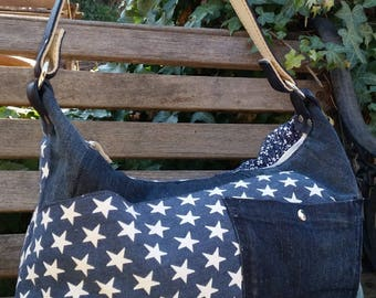 JEANS BAG RECYCLED PATCWORK