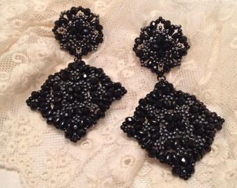 """""""Lace"""" earrings"""