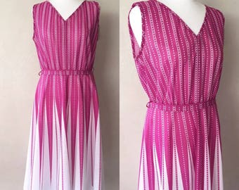 True Vintage Late 70's/Early 80's Dress