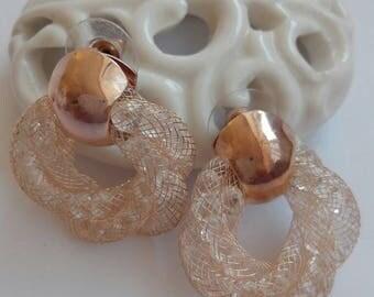 Classic vintage earrings