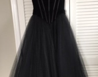 Vintage Black Dress by Bellville Sassoon Lorcan Mullany
