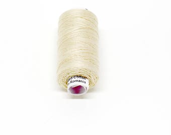 Valdani 60wt. Cotton Thread - #6 Natural