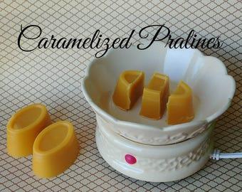 Caramelized Pralines wax melts - wax shots - candle melts - tart melts - wax melts - home fragrance - scented wax
