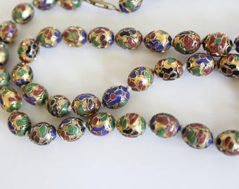 Cloisonné Necklace