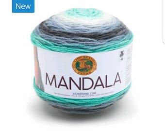Mandala Yarn - Lion Brand - Genie 217