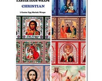 7 Christian Easter Egg Wraps