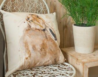 Proud Hare Cushion