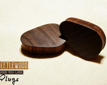 Ear Teardrop Plugs | Wood Teardrop Gauges | Wood Teardrop Plugs | Teardrop Gauges | Ear Wood Gauges | Plugs |18mm 19mm 28mm 30mm 32mm 40mm