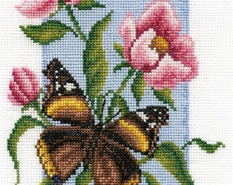 Cross Stitch Kit Butterfly