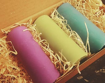 Lavender Fields Waxplay candle set