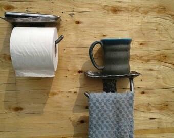 Forged Towel Holder Etsy