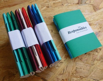 Makers - journal (7.5 x 10 cm) Pocket, fully recycled