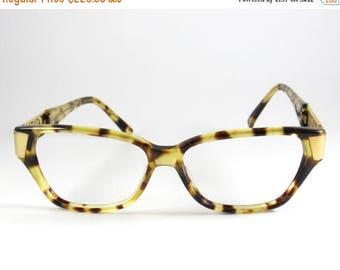 Gianfranco Ferre Mod:GGF148,  Vintage Rare 80s Gianfranco Ferre Horn Rimmed Tortoise Shell Eyeglasses, Hipster Tortoise Shell Eyeglasses,NO