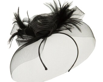 Horsehair Fascinator Hair Clip