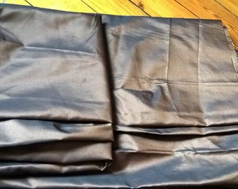 Coupon of 3 meters of shiny brown fabric, wide Brown fabric, chocolate brown, orange, coupon, coupon 3 meters, cheap fabric