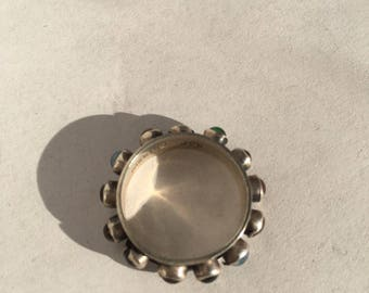 Sterling Silver multistone ring Size 4 1/2