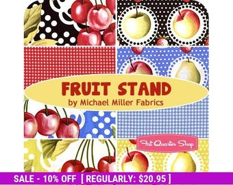 SALE! Fruit Stand - FQ Bundle (8) - Michael Miller Fabrics