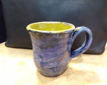 Raku pottery mug - Raku Mug