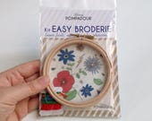 Flowers - Big Kit EASY BRODERIE