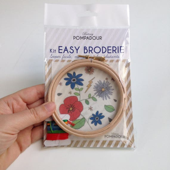 Flowers - Big EASY BRODERIE Kit