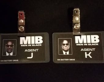 Men In Black ID Badge