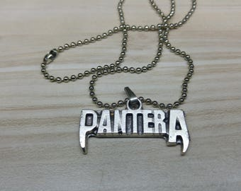 Pantera Necklace 925 Silver Plated