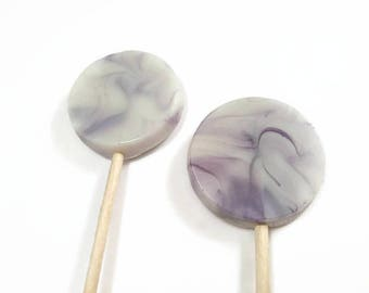 Set of Wedding Favour Lollipops, Party Favours, Lollipops, Hen Do Favours, Baby Shower Favours, Lollipop Favours, Purple Favours